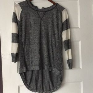 Altar'd State grey and white sweater size L